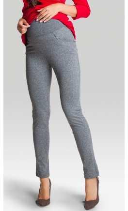 Теплые леггинсы - брюки для беременных BELLY