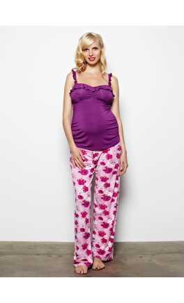 Maternity pyjamas pants TOFFEE APPLE